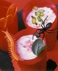 Halloween-Brotaufstriche Eat Smarter, Pudding, Party, Desserts, Food, Healthy Recipes, Pork, Tailgate Desserts, Deserts