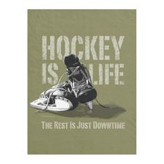 Shop Hockey Is Life Fleece Blanket created by eBrushDesign. Hockey Decor, Hockey Room, Inline Hockey, Hockey Season, Pittsburgh Penguins Hockey, Hockey Girls, Toronto Maple Leafs, New York Rangers, Edge Stitch