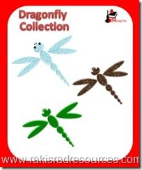 Dragonflies for Your Bulletin Board