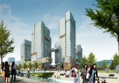 Kohn Pedersen Fox Associates: Projects: Sewoon - District 5 Development