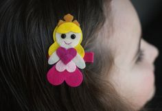 Sleeping Beauty Inspired Hair Clip  Meet Miss by CravingCuteness, $3.75