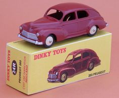 Peugeot 203 Dinky toys no no 24R
