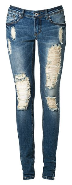 The perfect destroyed jean!