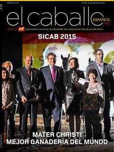 Revista el Caballo Español 2016 n.229  Revista el Caballo Español - ANCCE
