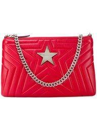 Stella McCartney Red Star PU Crossbody Bag - Farfetch 928ac5d051874