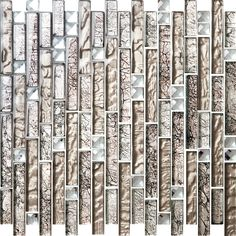 Luxury Hotel Multicolor Decorative Mosaic Tile Linear Wall Mosaic/Crystal Mosaic/Glass Mosaic/Stone mosaic Tile