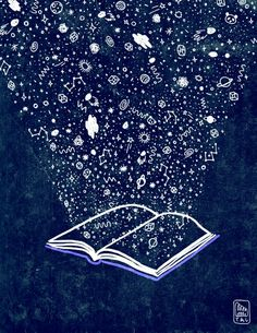 Books are magic. illustration by Gizem Vural I Love Books, Good Books, Books To Read, Michel De Montaigne, World Of Books, I Love Reading, Book Of Life, Book Quotes, Book Worms