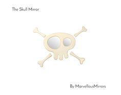 Skull and Crossbones Mirror.