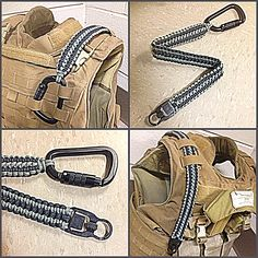Custom paracord sling I made for my plate carrier