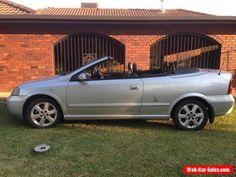 2004 Holden Astra Convertible #holden #astra #forsale #australia