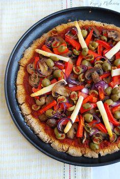 Vege z Miłością: Pizza gryczana (bezglutenowa)