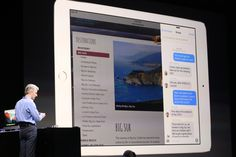 Apple iPad Gets Split-Screen Multitasking In iOS 9   TechCrunch