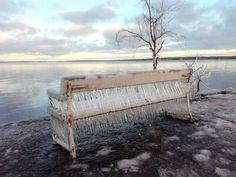 Onko tässä Tampereen jäätävin näky?