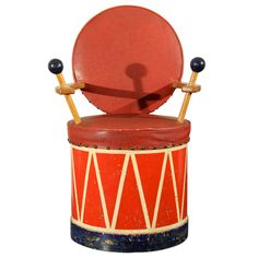 1stdibs.com   Cecil Beaton Attributed Child's Drum Chair
