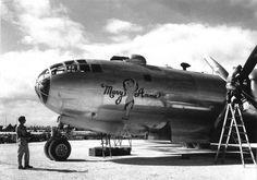 B-29 Mary Anne Baa Baa Black Sheep, Aircraft Painting, Airplane Art, Ww2 Planes, Craft Art, Nose Art, Aviation Art, Pin Up Art, Wwii