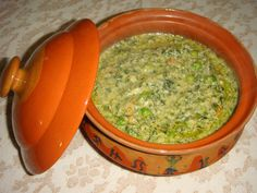 fresh fenugreek / methi leaves with green peas  Delicious treat for your next get-together, a party favorite!