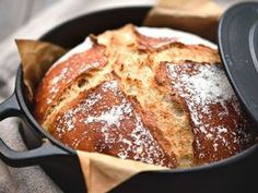 Pain en cocotte - Recettes - The Best Breakfast and Brunch Spots in the Twin Cities - Mpls. Casserole Dishes, Casserole Recipes, Bread Recipes, Beignets, Fraisier Recipe, Naan Recipe, Chocolate Banana Bread, Burger Buns, Eat Smart