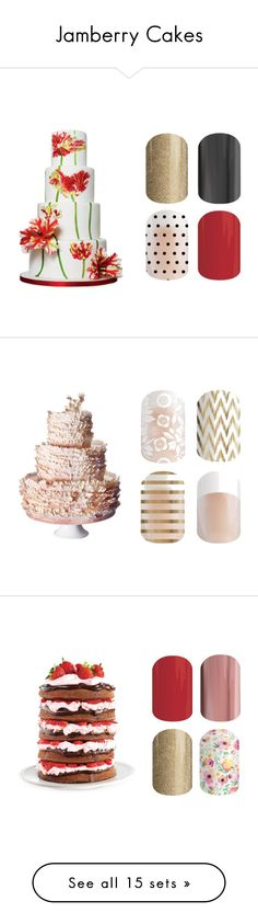 """""""Jamberry Cakes"""" by kellie-guravich-medivitz ❤ liked on Polyvore featuring interior, interiors, interior design, home, home decor, interior decorating, Wilton and LSA International"""