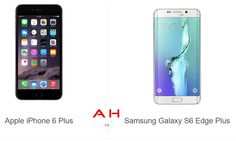 Phone Comparisons: Apple iPhone 6 Plus vs Samsung Galaxy Edge+ Phone Hacks, New Samsung Galaxy, 3 Things, Apple Iphone 6, Galaxies, Gadgets, Android, Style, Swag