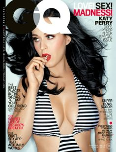 Katy Perry for GQ Magazine nude beach Katy Perry Pictures, Babe, Gq Magazine, Magazine Covers, Her Music, Beautiful Celebrities, Beautiful Women, Playboy, Celebs
