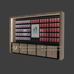 Custom wood mobile phone case display stand with storage for retail shop, store display design manufacturer suppliers Mobile Phone Shops, Mobile Phone Cases, Retail Store Design, Retail Shop, Mobile Shop Design, Phone Store, Shop Fittings, Display Design, Custom Wood