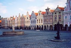 Telc, Czech Republic - I was so blessed to visit this beautiful town with my daughter and my very dear friend.