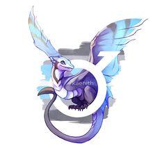 """Demiboy Pride Dragon"" by kaenith | Redbubble"