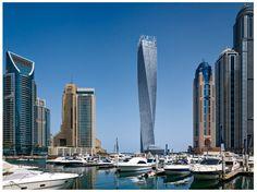 Cayan Tower Dubai.
