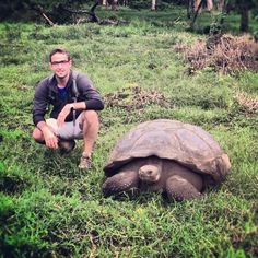 Santa Cruz, Galapagos on yksi saarista, joissa Charles Darwin vieraili H.M.S. Beaglella.