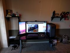 i updated my battle-station taking into account your suggestions! but i also forgot to get a chair...