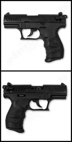 Walther P22 Q im Kal. .22 L.R.Save those thumbs & bucks w/ free shipping on this magloader I purchased mine http://www.amazon.com/shops/raeind  No more leaving the last round out because it is too hard to get in. And you will load them faster and easier, to maximize your shooting enjoyment.  loader does it all easily, painlessly, and perfectly reliably