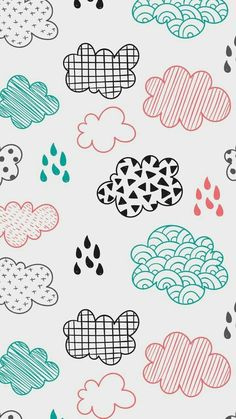 Fun iPhone with your wallpaper. Cloud Wallpaper, Apple Wallpaper, Pastel Wallpaper, Screen Wallpaper, Cute Backgrounds, Cute Wallpapers, Wallpaper Backgrounds, Fun Iphone Wallpaper, Colorful Clouds