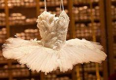 Swan Lake ballerina costume