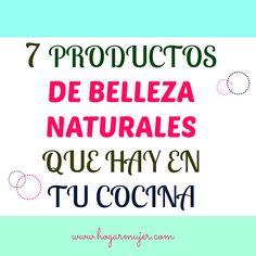 7 productos de belleza que hay en tu cocina #tips #belleza #hogarmujer #salud