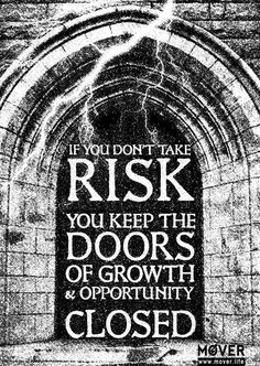 TAKE RISK. Download .PDF .JPG: http://www.mover.life/takerisk_326.html