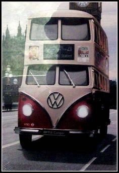 VW Camper Double Decker