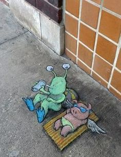 David Zinn: Enjoying winter in Ann Arbor is next to impossible. Luckily, that's where Sluggo spends most of his time.