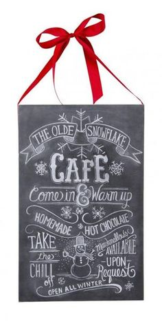 THE OLDE SNOWFLAKE CAFÉ Come in & Warm up HOMEMADE HOT CHOCOLATE TAKE the CHILL off Marshmallows AVAILABLE UPON Request OPEN ALL WINTER.