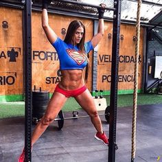 RIPPED FEMALE SUPER HERO PHYSIQUE of Colombian #Crossfit athlete & #Fitness model Tatiana Girardi : if you LOVE Health, Inspirational Physiques & Fitspo - you'll LOVE the #Motivational designs at CageCult Fashion: http://cagecult.com/mma