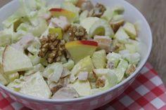 Recept voor supersnelle waldorfsalade | eethetbeter.nl