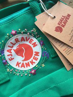 #Hipster Hipster Wedding : Kanken embroidery DIY   summer ...