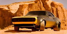 Bumblebee as a 1967 Camaro SS for Transformers 4