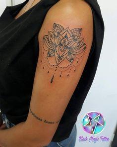 Tattoo Lótus Ornamental da Promo Obrigada Jenifer 😍😘 Snap mansurtattoo Instagram @danielamansurtattoo whats 51 98406.5684 #tattoo #tattoos #tatuagem #tatuagens #blacktattoo #tatuada #tattooblack...