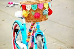 Image result for knit crochet bicycle seat cover