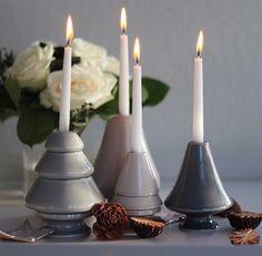 Kähler Christmas candleholders