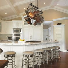 Angled Coffered Ceiling Design Ideas, Pictures, Remodel, and Decor