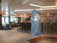 Ocean Blue by Geoffrey Zakarian on the Norwegian Breakaway