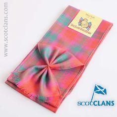 MacNab Ancient Tartan Mini Sash. worldwide shipping available