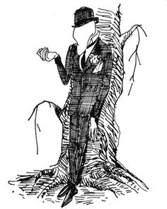 Jules Feiffer's portrait of the Terrible Trivium from The Phantom Tollbooth  (Love, love, love this.)