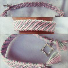Friendship bracelet made by me